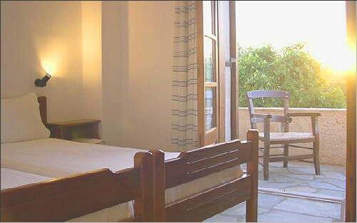 View towards the balcony