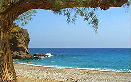 Ierapetra: Beach near Koutsouras